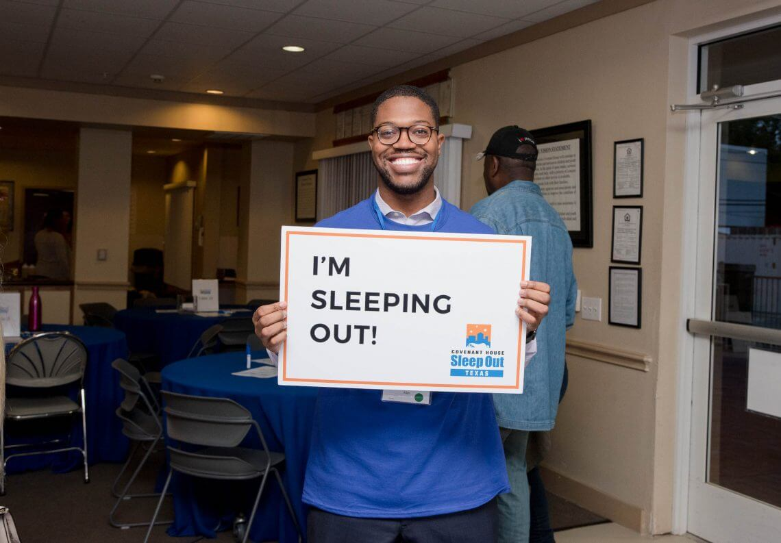 Sleep Out Covenant House Tx
