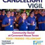 Candlelight Vigil Flyer